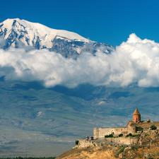El Monte Ararat es el símbolo nacional para el pueblo armenio.