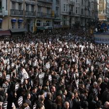 El periodista armenio-turco Hrant Dink fue asesinado el 19 de Enero de 2007.