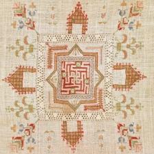 Los armenios de Marash tienen su propio estilo tradicional de bordado.