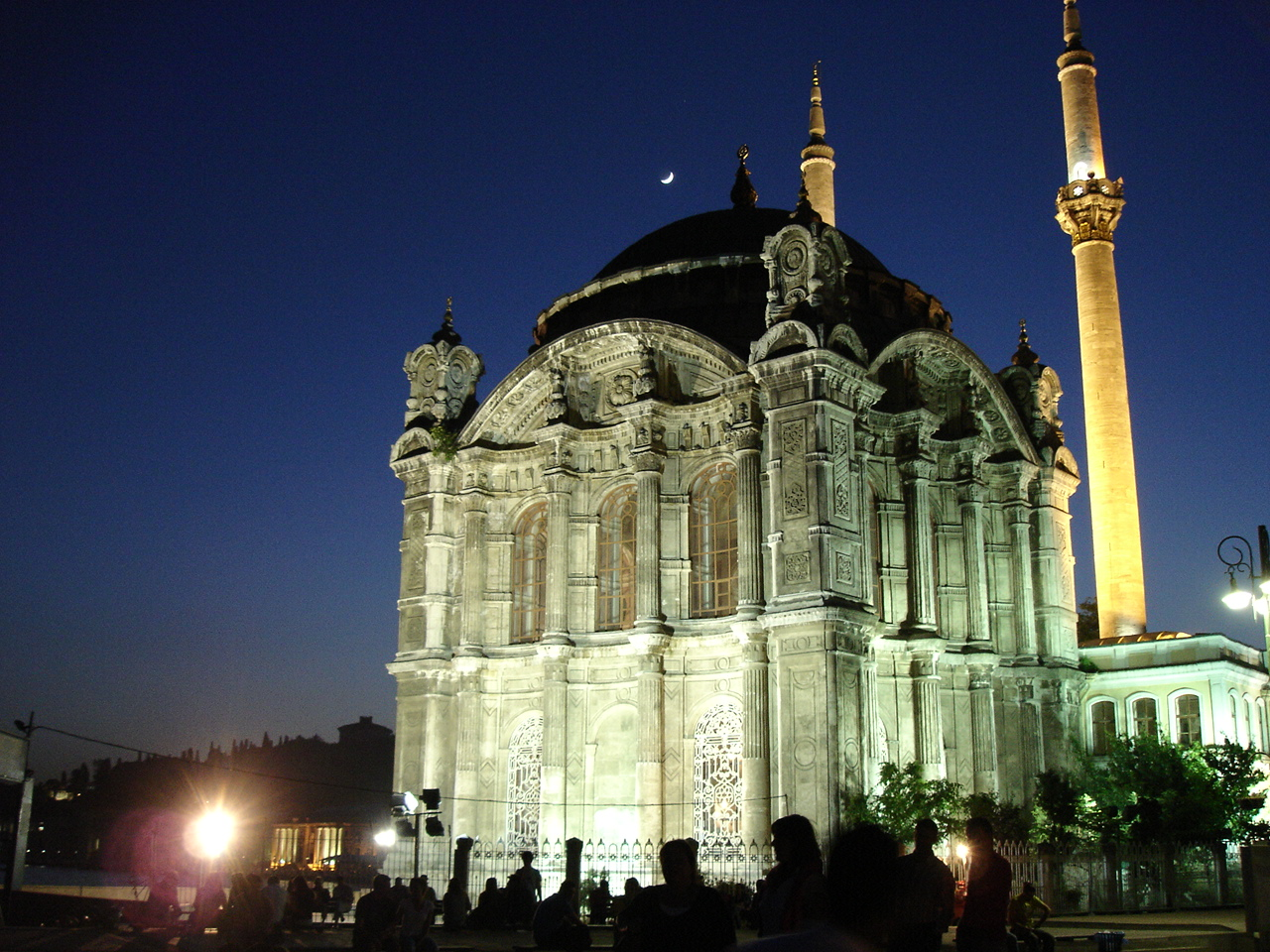 The Ortaköy Mosque, designed by Garabed and Nigoghayos Balyan, 1850s