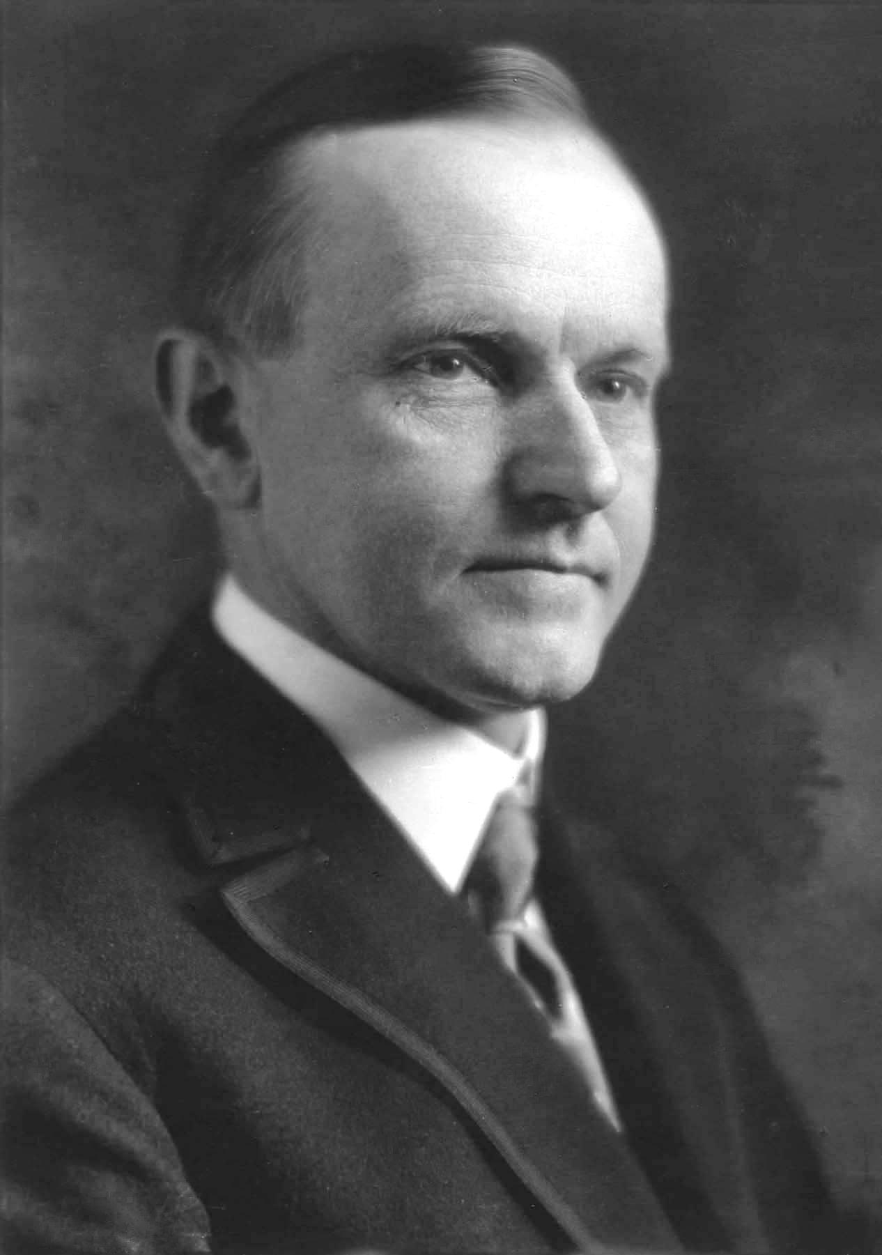 US President Calvin Coolidge in 1923; picture taken by Armenian-American photographer John Garo (1875-1939)